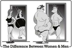 The difference between women & men
