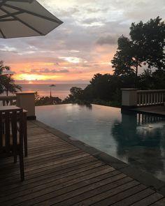 This view though  #happyplace #honeymoon #trisara #phuket #thailand #travelblog #traveldiaries #alwaysonvacation by dianavonross