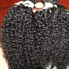 Ibeshion remy kinky curly virgin brazilian hair