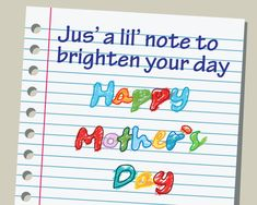 Send #mom this hand-scribbled note and bring back a flood of memories with #MothersDay. #HappyMothersDay #MothersDay2016 #MothersDaygiftideas #LoveyouMom #Mothersdaygiveway #free#cards #greetings #wishes.