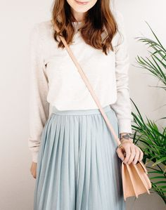 The New Style Staple: The Midi Skirt — From Roses