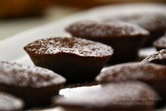 Vegie Head » Gluten-Free mini cacao muffins