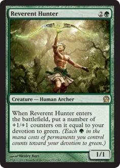 mtg-GREEN-DEVOTION-DECK-Magic-the-Gathering-rare-cards-heroes-039-bane-yeva