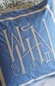 Had to pin this....I don't see monograms for W..x..N very often if at all.  Mine is WBN, and I'm a I, not a II....