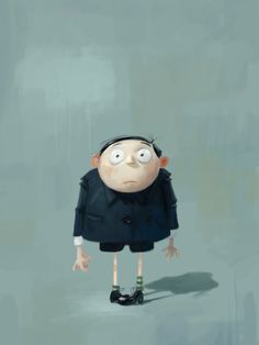 Little Groo - Despicable Me | Illustrator: Carlos Felipe Leon