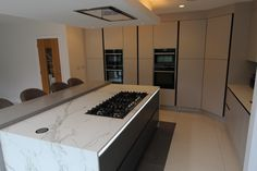 Kitchens Stevenage Home - Kitchen Ergonomics Designed and installed Kitchen Extension, Home Kitchens, Cashmere Kitchen, Slate, Kitchen, Modern Appliances, Two Tone Kitchen, Bespoke Kitchens, Home Decor