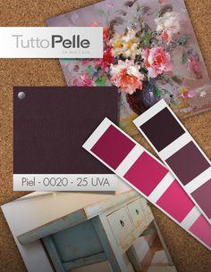 #Paleta #Color #Interiorismo #Rosa #Uva #Floral