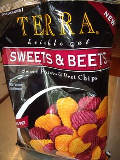 Terra Chips - sweets & beets $5