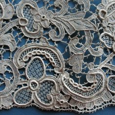 Venise needlelace, probably Belgian