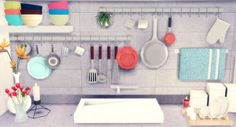 My Sims 4 Blog: TS3 Marcussims91 Industrial Rack, Luna Fireplace and More by Rachel
