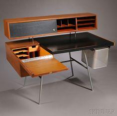 Mid-Century Modern Freak | 1948George Nelson Home Office Desk