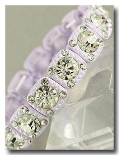Violeta Pastel Genuine Crystal Bracelet