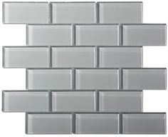 Smoke Gray Glass Mosaic Subway Tile to tie everything together. #LGLimitlessDesign#Contest