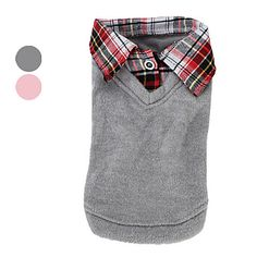 USD $ 11.69 - Knitted Vest with Collar Shirt for Dogs (XS-XL, Assorted Colors), Free Shipping On All Gadgets!
