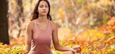Mind, body and nature connected. Meditation is bringing the mind and the body together. Being connected with nature helps.