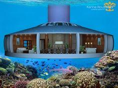 Un projet fou bientôt possible ? Habiter une maison sous marine