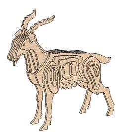 The Goat - Domestic | MakeCNC.com