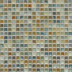 DaltileFashion Accents Glass Mosaic Tile in Lake