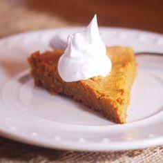 Weight Watchers Pumpkin Pie