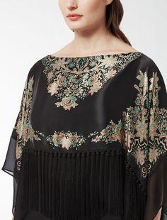 Mi chiamano Mimì...   Casacca in raso stampa foulard