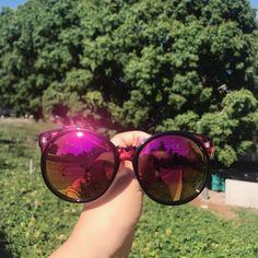 I feel green ~ anytimeglasses with green nature 🌿🌴🌳 #anytimeglasses #anytimesunglasses #sunglasses #eyewear #ootd #fashion #korean #koreanstyle #fashionsunglasses #roundsunglasses #green #nature