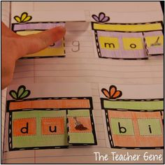 Classroom Freebies Too: CVC Words Interactive Notebook Freebie