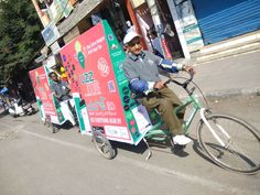 Started Tricycles Advertising Campaign in Hyderabad.Tricycles Campaign On Wheels Every Thing Near By. Advertising Campaign, Tricycle, Hyderabad, Baby Strollers, Wheels, Real Estate, App, Business, Ideas