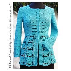 eb88c1dff0c1 BLUE LACE CARDIGAN pattern by Sophie and Me-Ingunn Santini