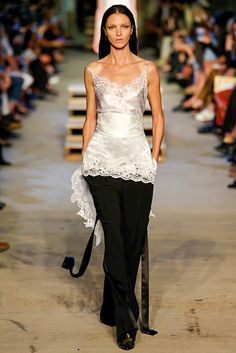 Lace, lace and more lace at Givenchy's Spring 2016 runway