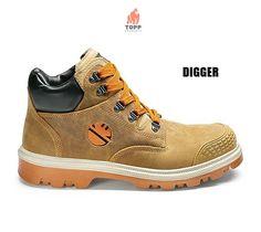 Bocanci de protectie industriali Dike Hiking Boots, Sneakers, Shoes, Fashion, Italia, High Shoes, Leather, Tennis, Moda