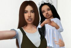 😍😍😍💖💖 Sims 4 Cas, Sims Cc, Sims Life Stories, Sims 4 Photography, Sims 4 Poses, Avatar Babies, Second Life Avatar, Sims 4 Family, Sims 4 Black Hair