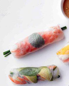 Shrimp-and-Mint Summer Rolls