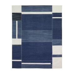 9x12 - $ 2,500.00 - Denim Ocean   MADELINE WEINRIB