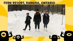 Reviews for Kids   Fern Resort Ontario Skating Trail