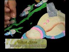 PINTAR SORE TELA. PARTE 3.- NAVIDAD.     Pintura en tela -navidad 3 Detalles Magicos con Mimi Luna