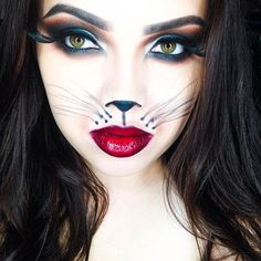 макияж женщина-кошка фото