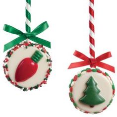 """Two in one! However, I think the """"dowel rod"""" would be a candy cane instead if I were to make this. #wiltoncontest"""