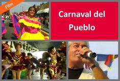 This is one of the first films of the Carnaval del Pueblo, a regular and popular fixture on Southwark's festival calendar. It features a procession along Walworth Road, showing off traditional costumes and dancers, followed by the main event in Burgess Park, featuring a host of musicians and singers including well known figures like Adalberto Santiago and Willie Colón. The video captures the spirit of the carnival with scenes of Southwark's people dancing, eating and enjoying themselves.