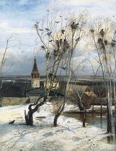 Саврасов, Грачи прилетели, 1871 год