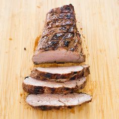 Garlic-Lime Grilled Pork Tenderloin Steaks Recipe - America's Test Kitchen