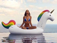 Description: Relax in the pool on a Unicorn Floatie! Great for beach days and pool parties! Main Features: Made from eco-friendly PVC material Unicorn design Summer Vibes, Summer Fun, Unicorn Inflatable, Giant Inflatable, Helen Owen, Sport Pool, Pool Floats, Shooting Photo, Summer Photos