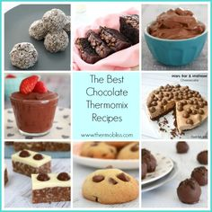 So to celebrate our shared sweet tooth today I've put together a collection of the best Chocolate Thermomix Recipes that are guaranteed to please all of your chocolate lovers out there - enjoy!