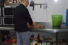 Nuestro chef en la cocina