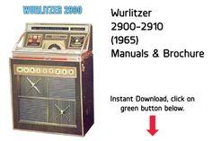 wurlitzer 3020 wallbox service parts manual jukebox manual rh pinterest com