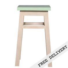 Shabby Chic French Country Green Kitchen / Bar Stool | GHIFY