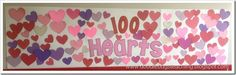 Doodle Bugs Teaching {first grade rocks!}: 100 Hearts