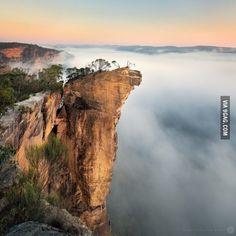 Sunrise at Hanging Rock, New South Wales (By Luke Tscharke)