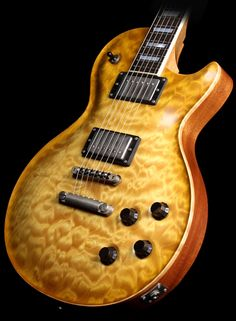 Nik Huber '59 Orca Quilted Maple Electric Guitar Faded Sunburst | The Music Zoo