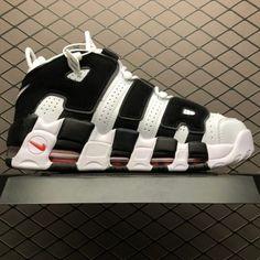 f147ccef90 Scottie Pippen's Nike Air More Uptempo White Black 414962-105 To Buy-4 Black