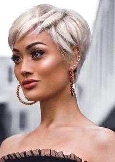 Super Sexy en Stijlvol: 10 korte looks in een prachtige as blonde kleur! - Pagina 2 van 10 - Kapsels voor haar